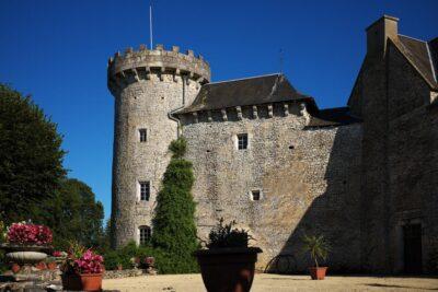 Tour et mur du Château la Mailholière
