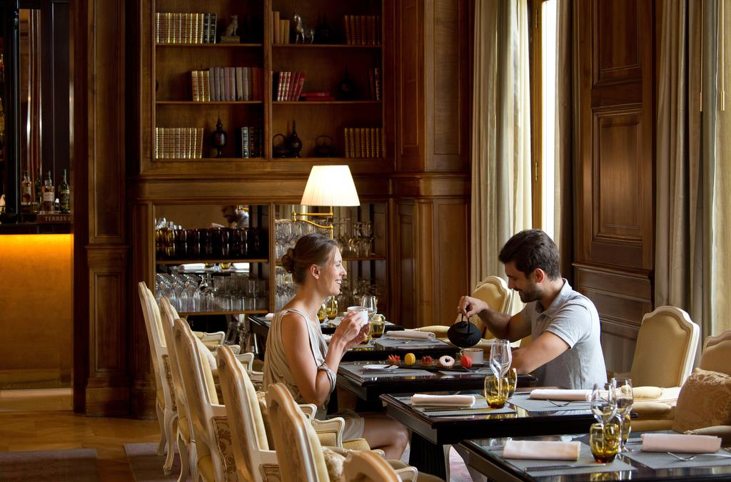 Brunch au restaurant du Château Hôtel Tiara Chantilly