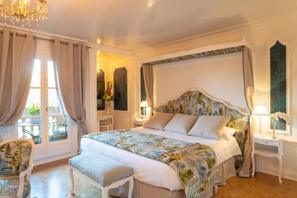 Chambre double Deluxe à l'hôtel Château de Montvillargene