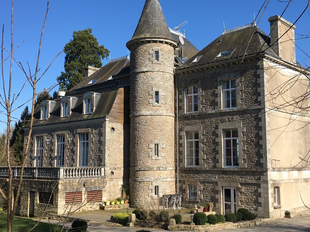 Façade du Château Hôtel de la Ferrière (Morbihan - 56)